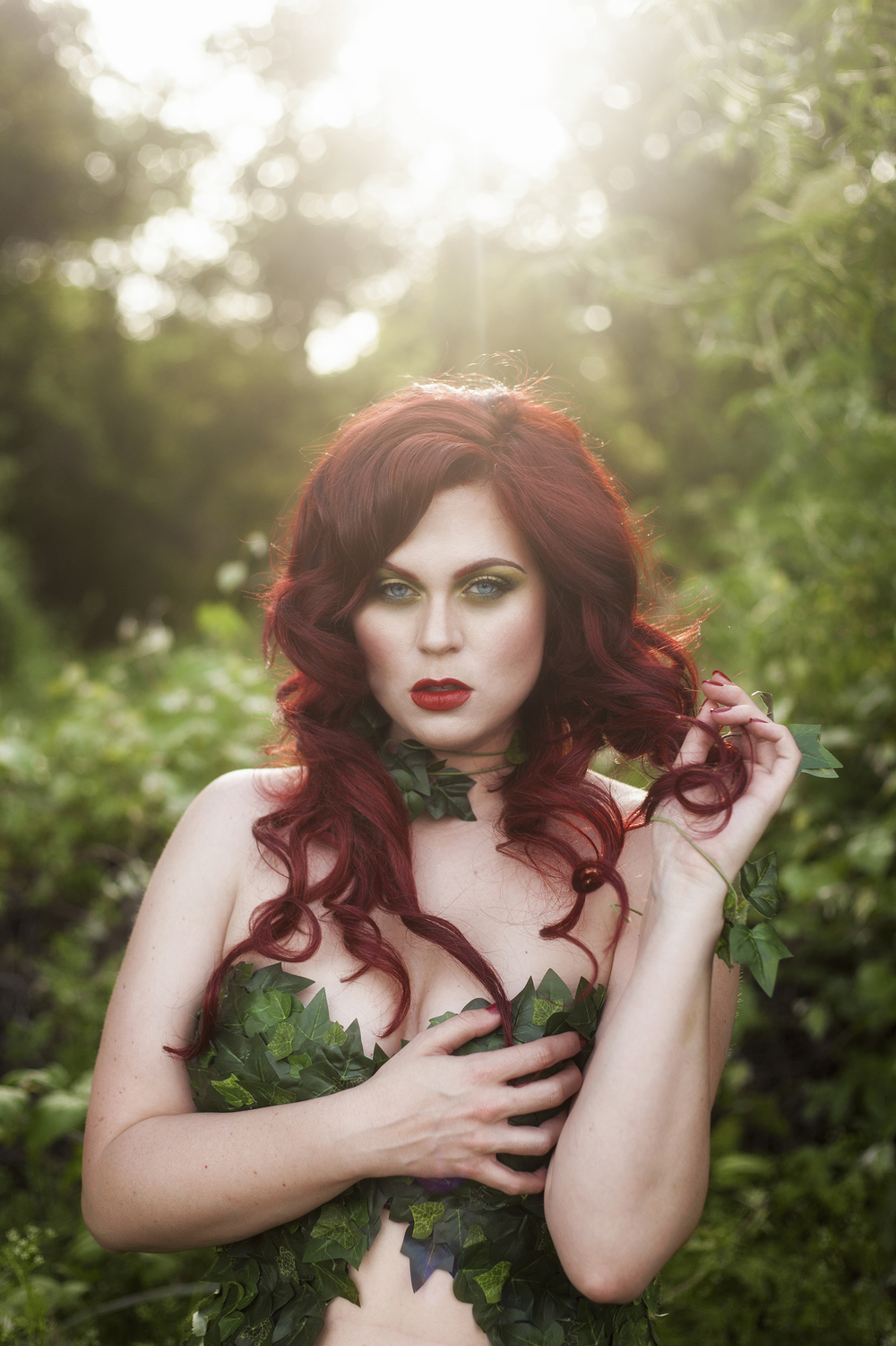Poison Ivy Cosplay - April 2016/MUA: Kim Cook Beauty/Photo: Katelyn Elizabeth Photo.