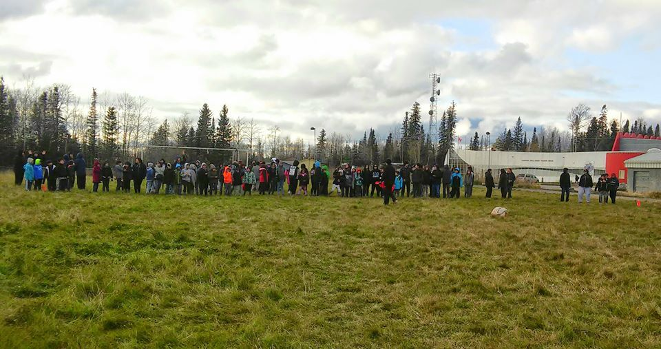 Kistiganwacheeng Program - Over 100 youth in Northern Manitoba getting IYMP started for year #8!