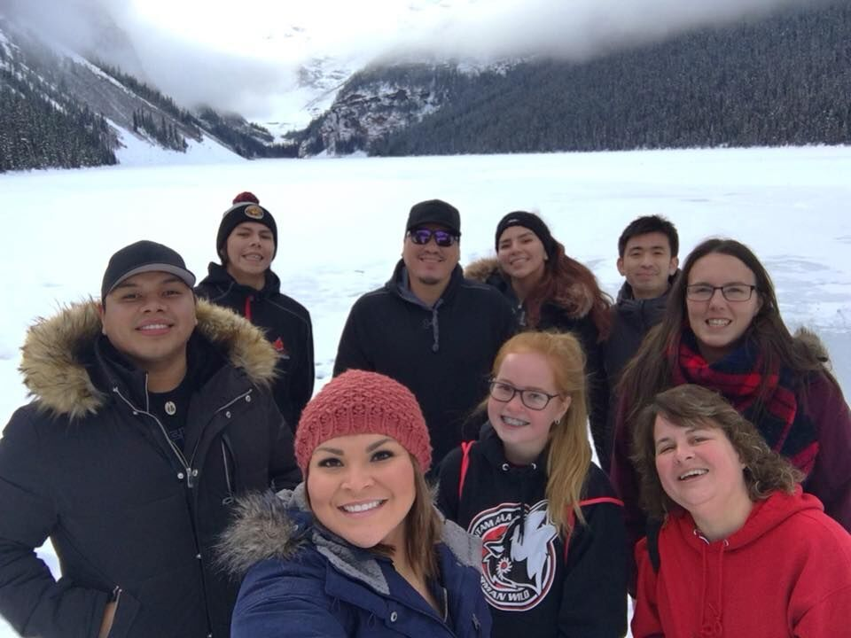 Youth from Pimicikamak , Wabowden, Toronto and Wikwemkoong enjoying nature - Bringing youth together for outdoor activities to foster a sense of belonging.