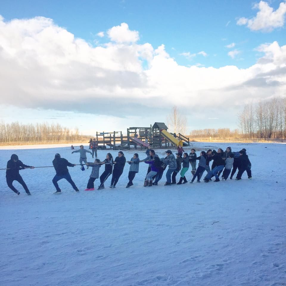 More outdoor activities in IYMP - Great program within Alexander First Nation