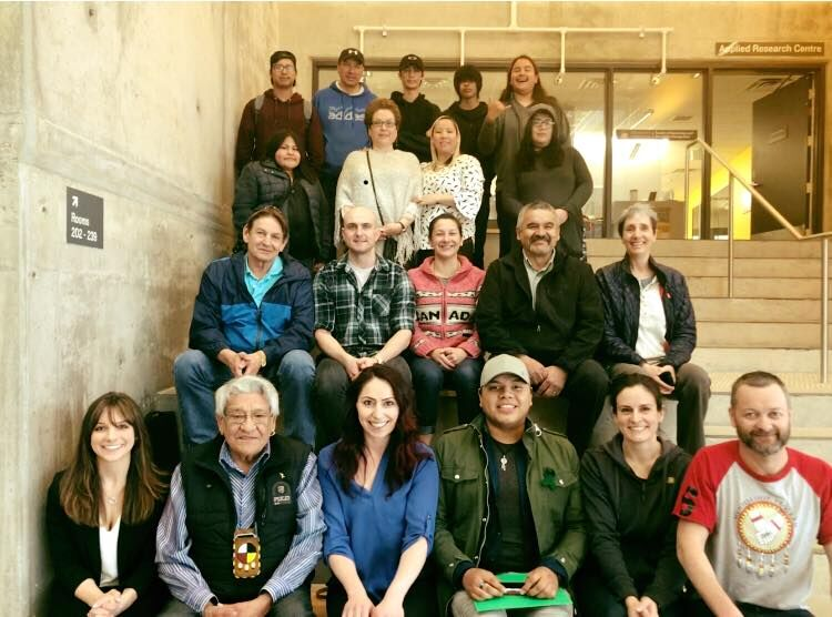 Manitoba Door Meeting - Elder Jack Robinson, community leaders, young adults and scientists gather to determine the next steps for IYMP