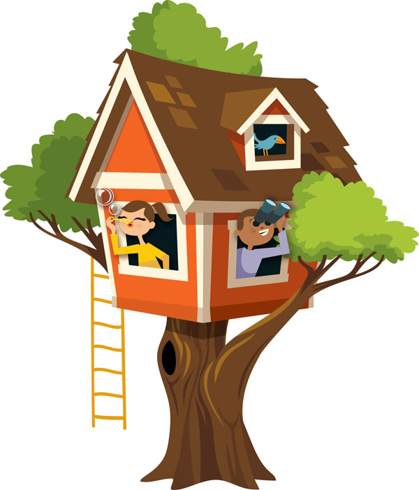 clipart pictures tree house - photo #22