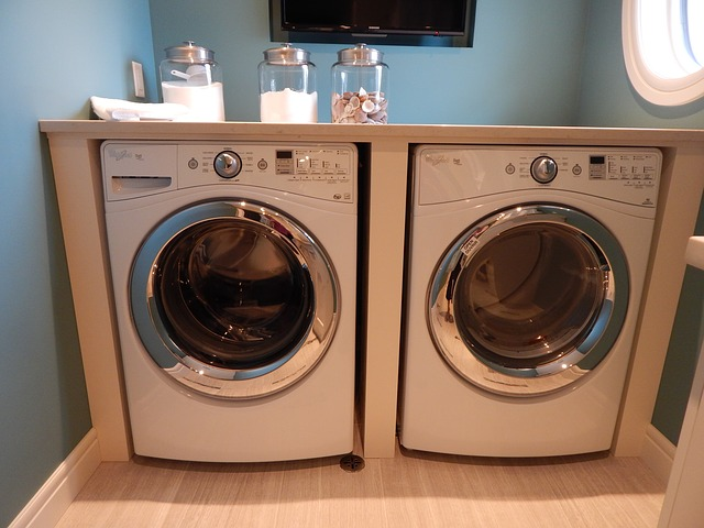Laundry rooms are made for cleanliness but they can be a hazardous place for children