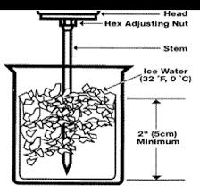 This image shows the Ice Water Method. the process is the same for the boiling water method. Both are explained below.