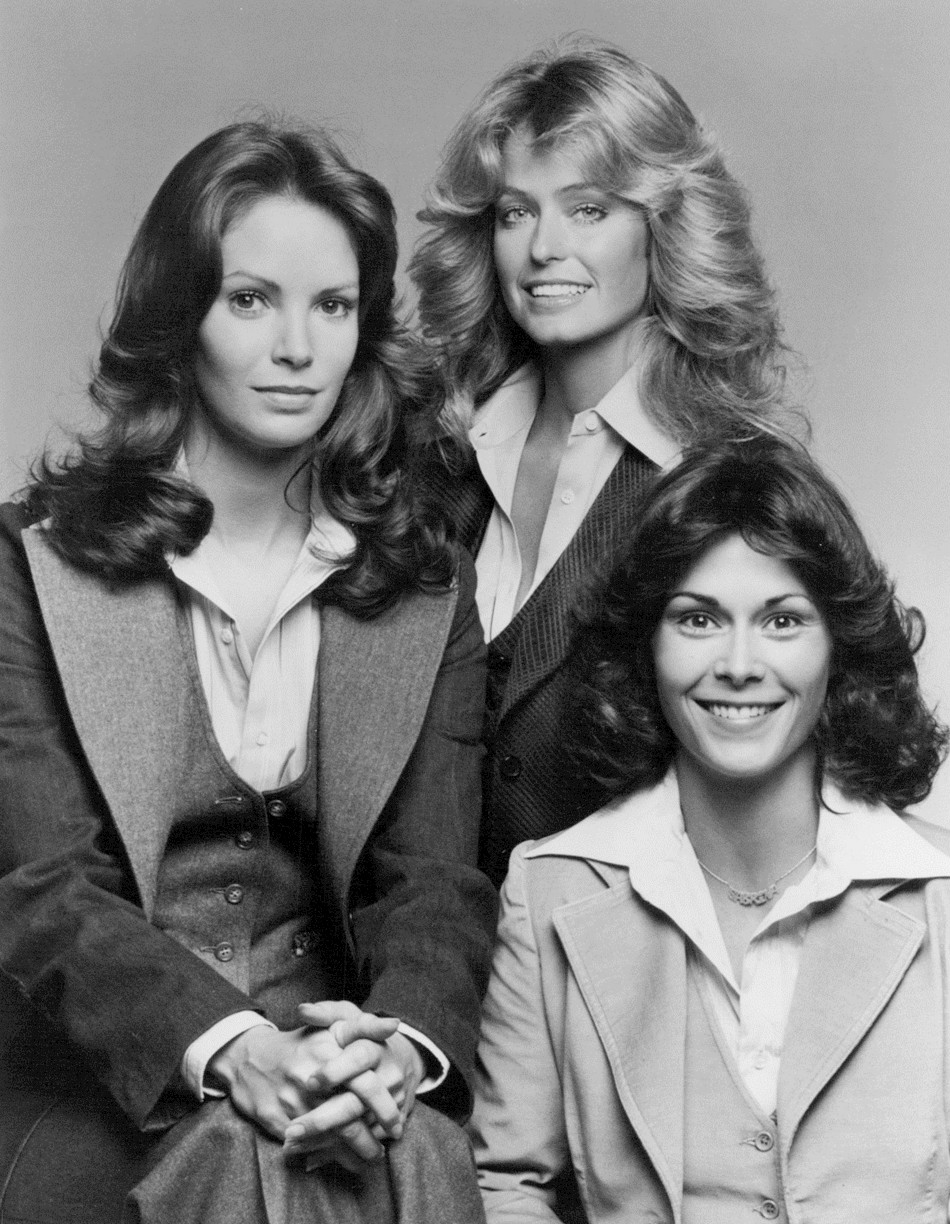 TV Show, Charlie's Angels, with different cast members, ran from the mid-70s to the early 80s. It had a huge influence on fashion and hair...especially that Farrah!