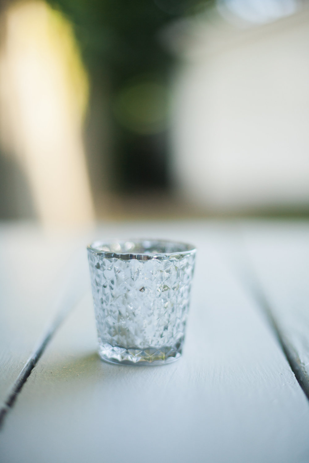 Silver Mercury Votives (30)