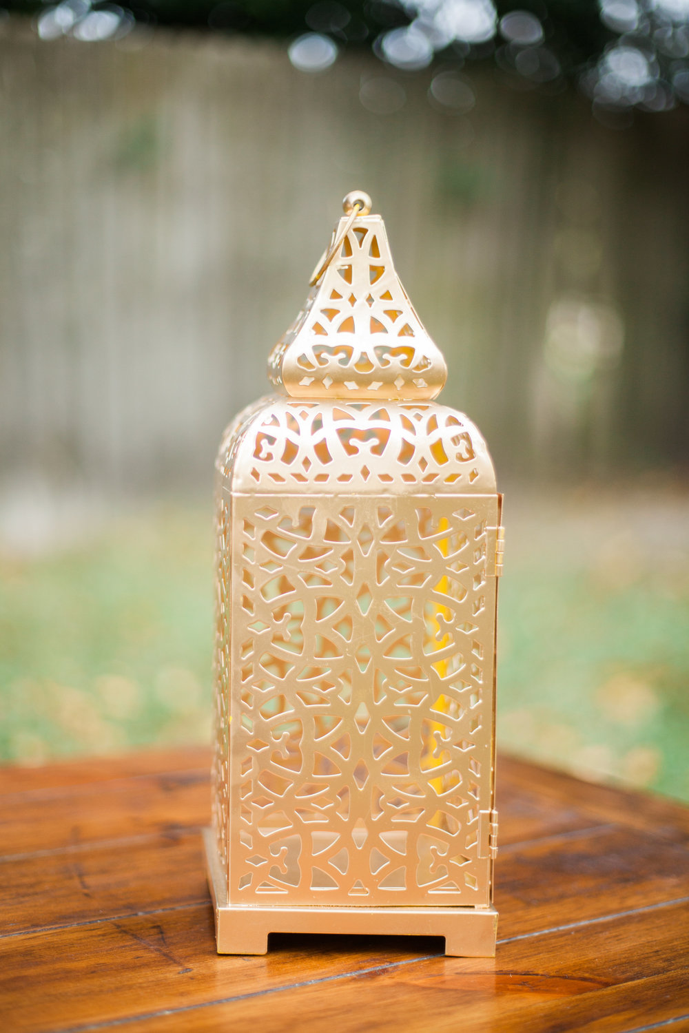 Gold Scroll Lanterns (2)