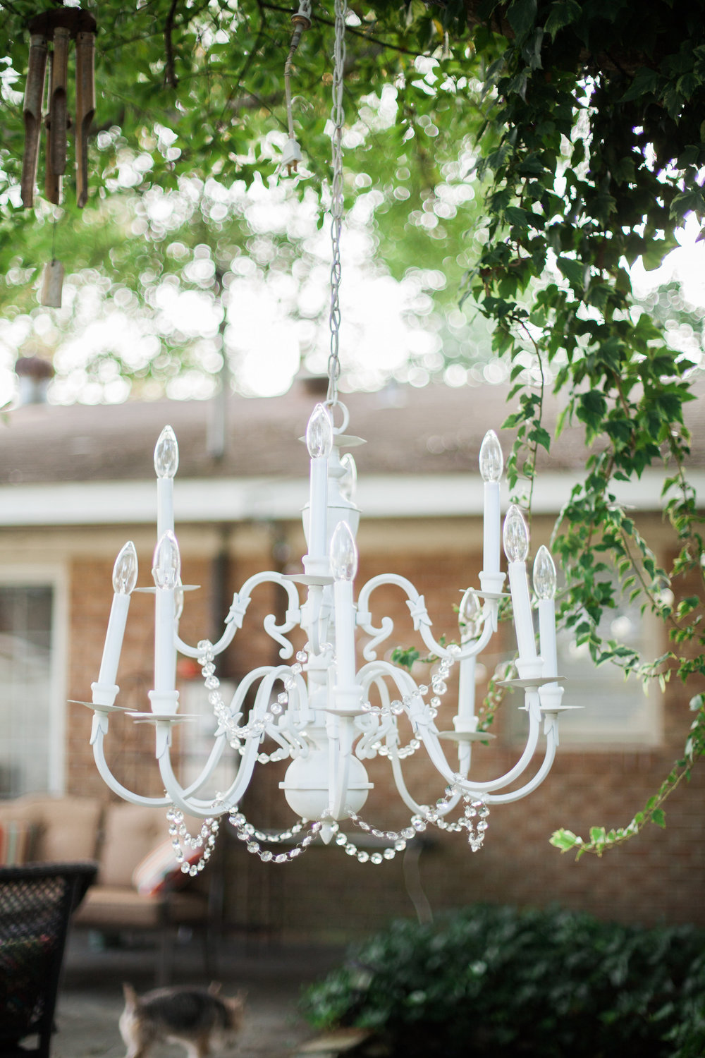 Shabby Chic Chandelier (2)