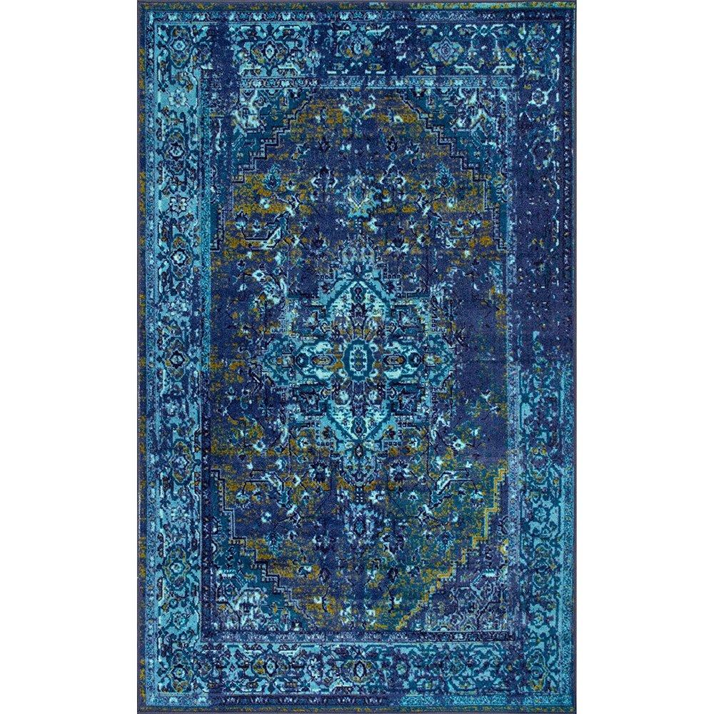 Blue Boho Rug