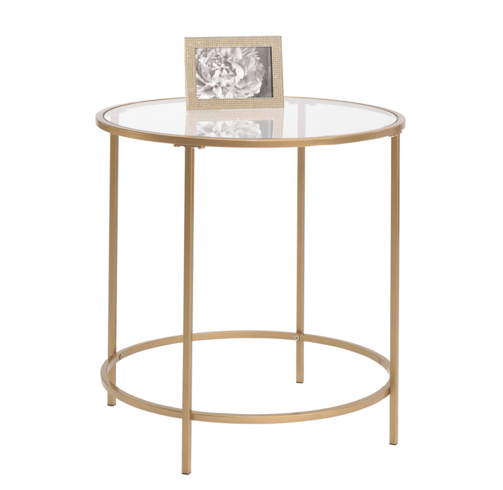 Gold End Tables (3)