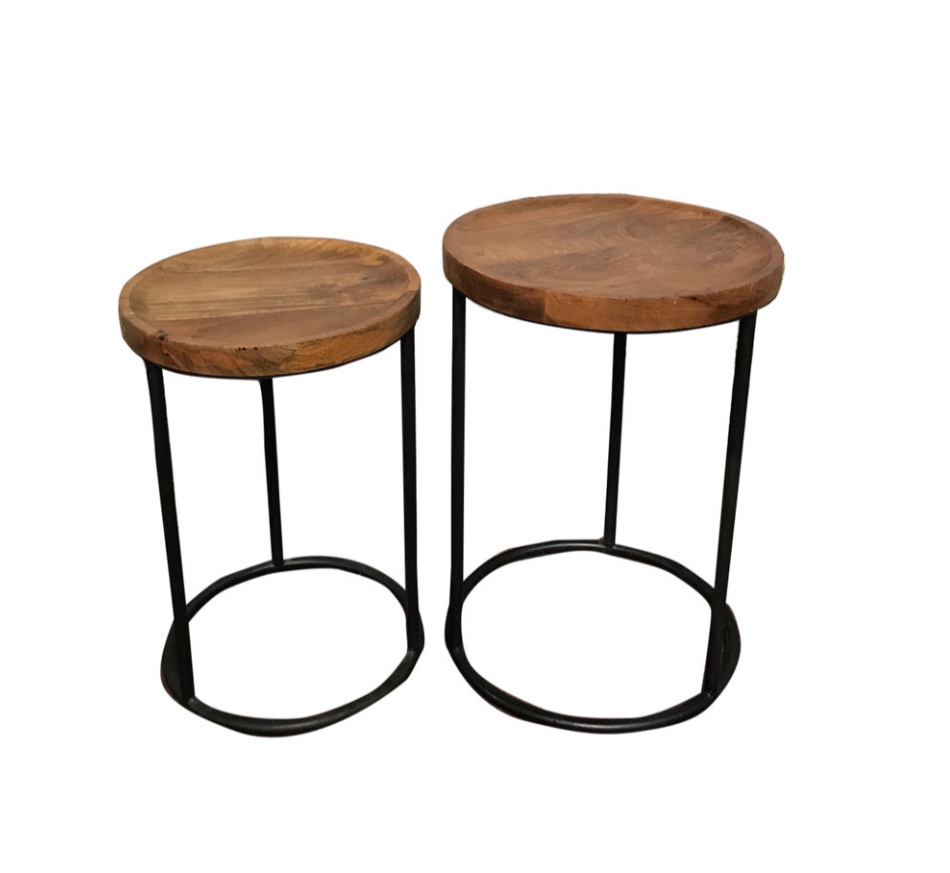 Industrial End Tables (4)