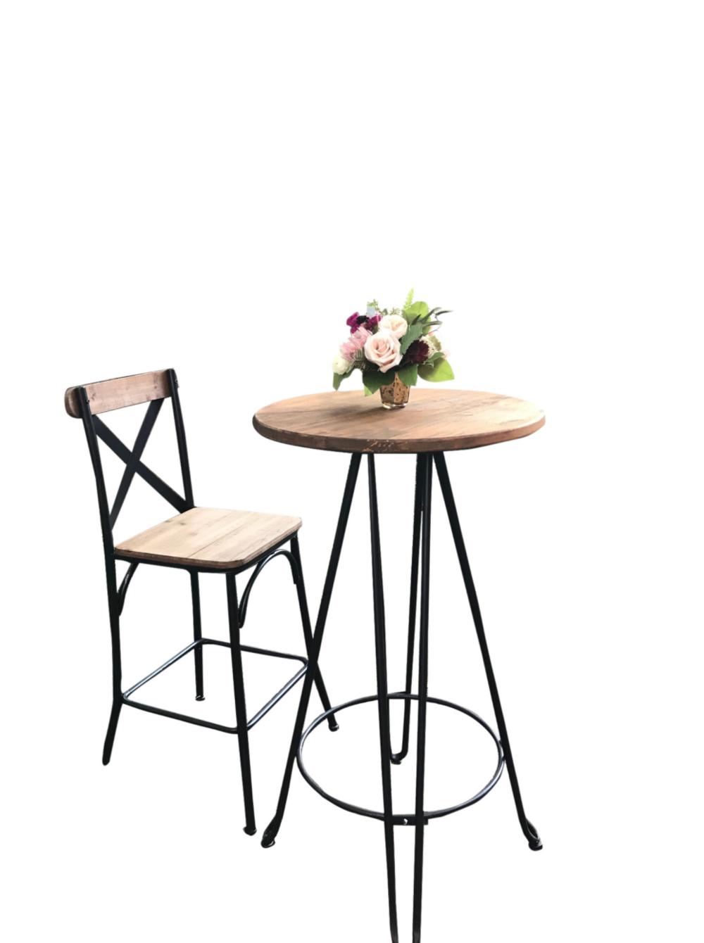Industrial Cocktail/Bistro Chair (10)