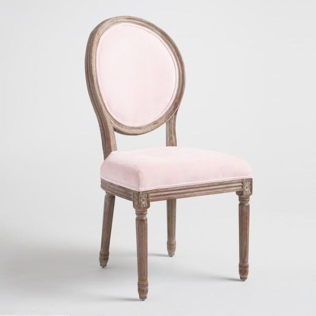 Christina Chairs (2)   Color: Blush