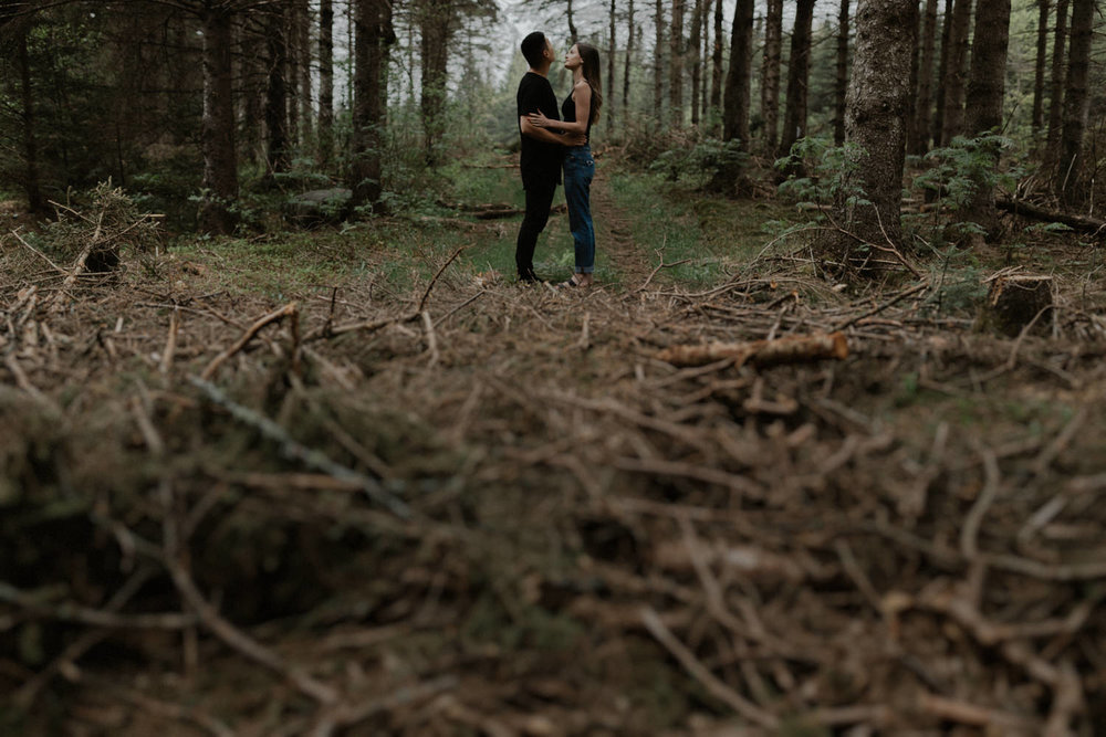 Ariane Marc-Antoine Engagement Iceland Wedding Mariage Quebec Nature Forest Foret Yanick Lesperance (3 of 73).jpg