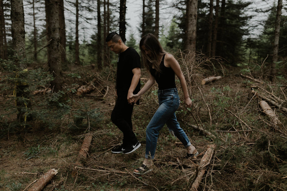 Ariane Marc-Antoine Engagement Iceland Wedding Mariage Quebec Nature Forest Foret Yanick Lesperance (10 of 73).jpg