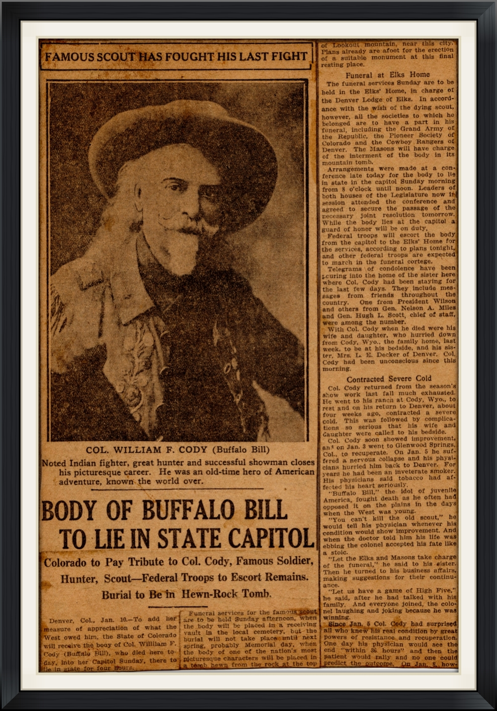 Buffalo Bill Last of the Great Scouts