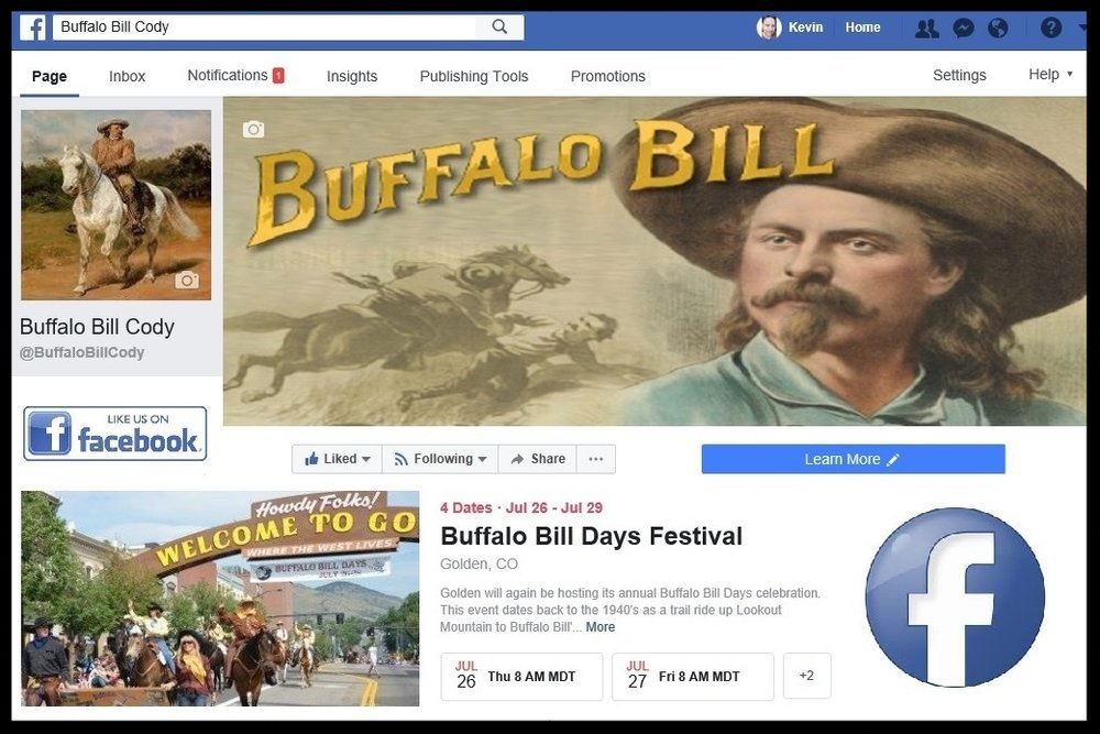 Buffalo Bill's Official Facebook Page