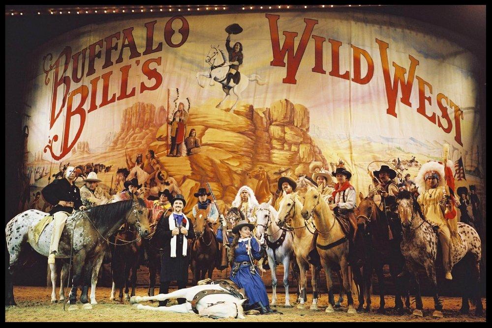 Buffalo Bill's Wild West Show at Disneyland (Paris, France)