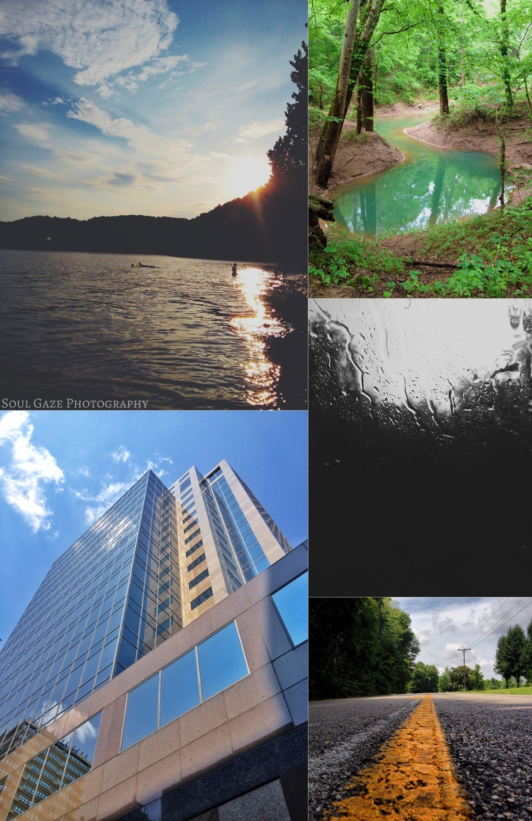For example, EACH of these photos were taken and edited using an iPhone.