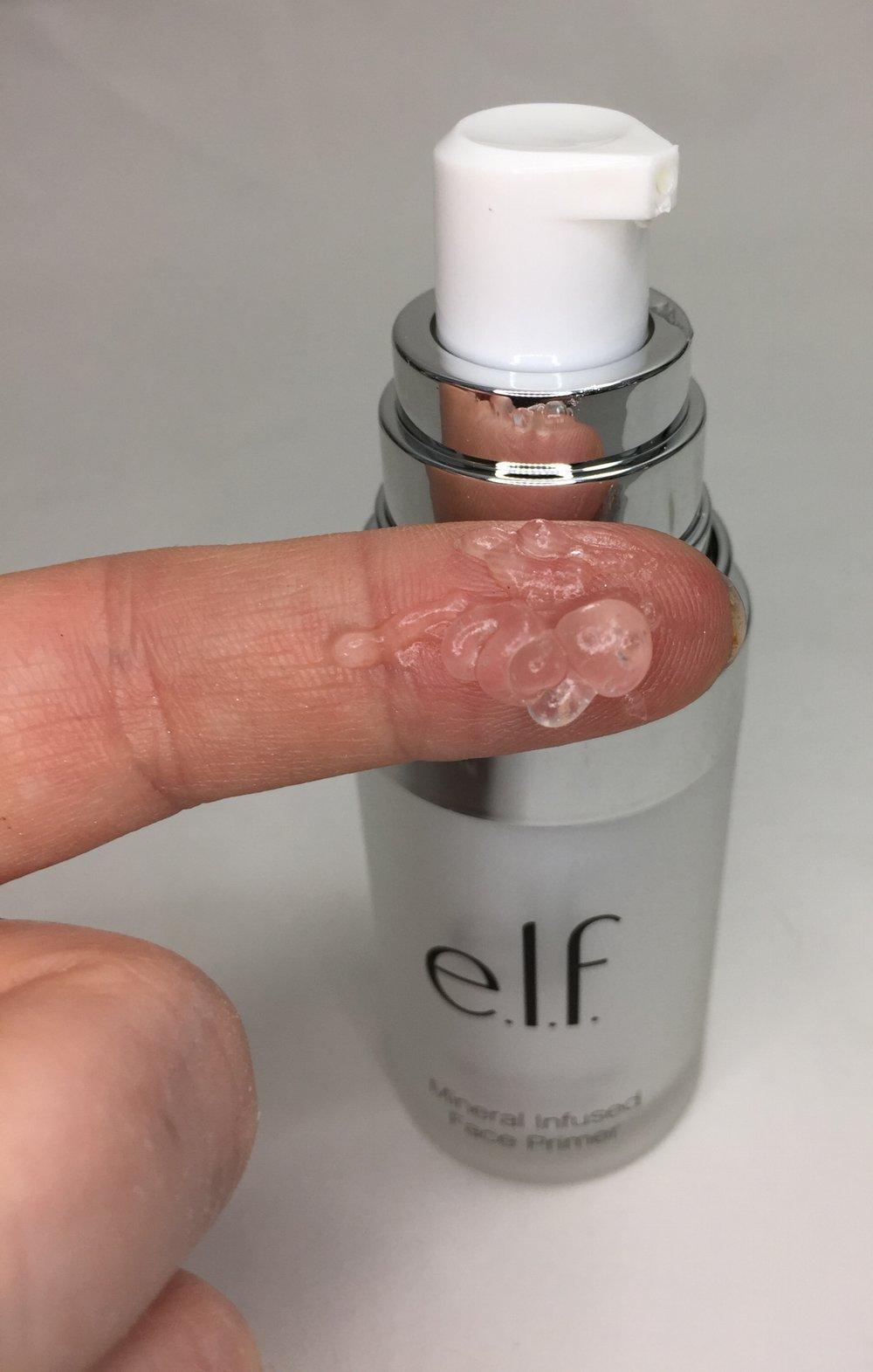 Truly clear, gel that is liquid silk!