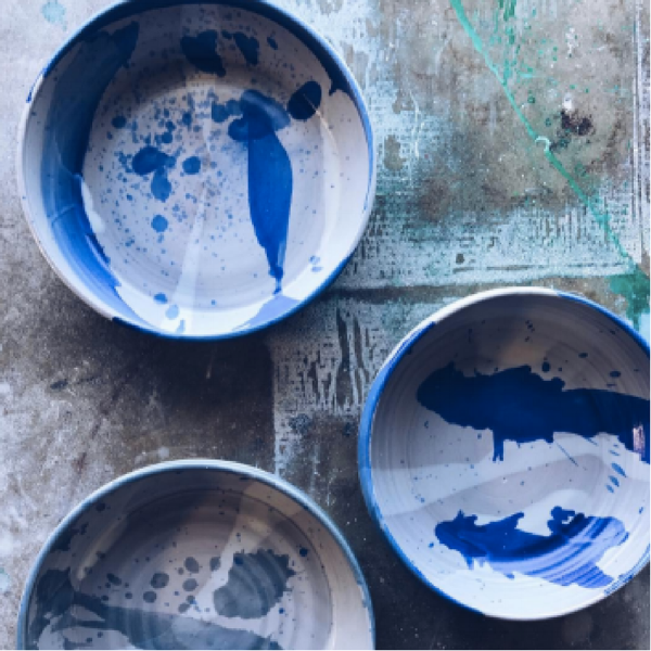 Picture taken from: https://www.instagram.com/settle_ceramics/?hl=en     Settle Ceramics   | Handmade ceramic goods for home | I actually visited her studio in East Austin during the East Austin Studio Tour (I believe that's what it was called) and all of her work and work space was amazing! Definitely the perfect items for your dream kitchen or to gift to a friend.