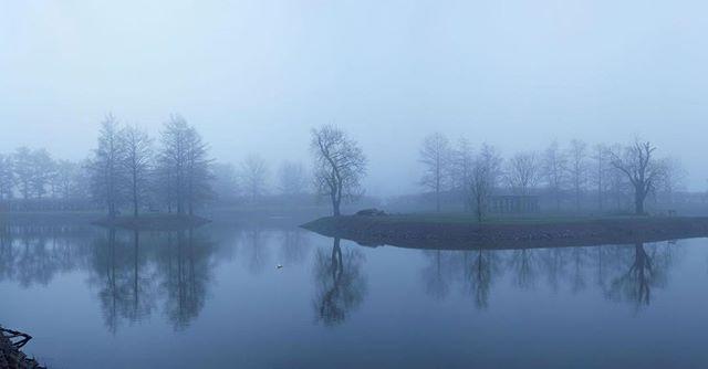 #lakeofdespair #fog #belllabs #drearyday