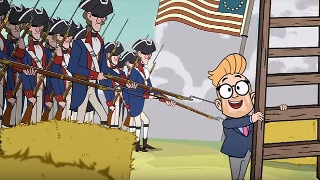Beware, Adam is back to ruin History and to add insult to injury - it'll be animated!!! Link in bio.