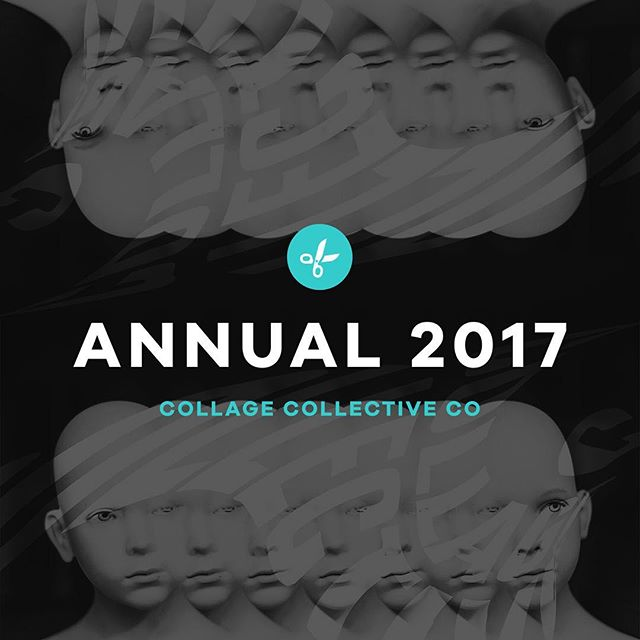 ANNUAL 2017 — OUT NOW. As tradition has it, it is now 2018 here in Australia so our annual publication has just been released. Head to our website for a link to purchase and a link to preview. Happy New Year!  #collagecollectiveco #annual2017