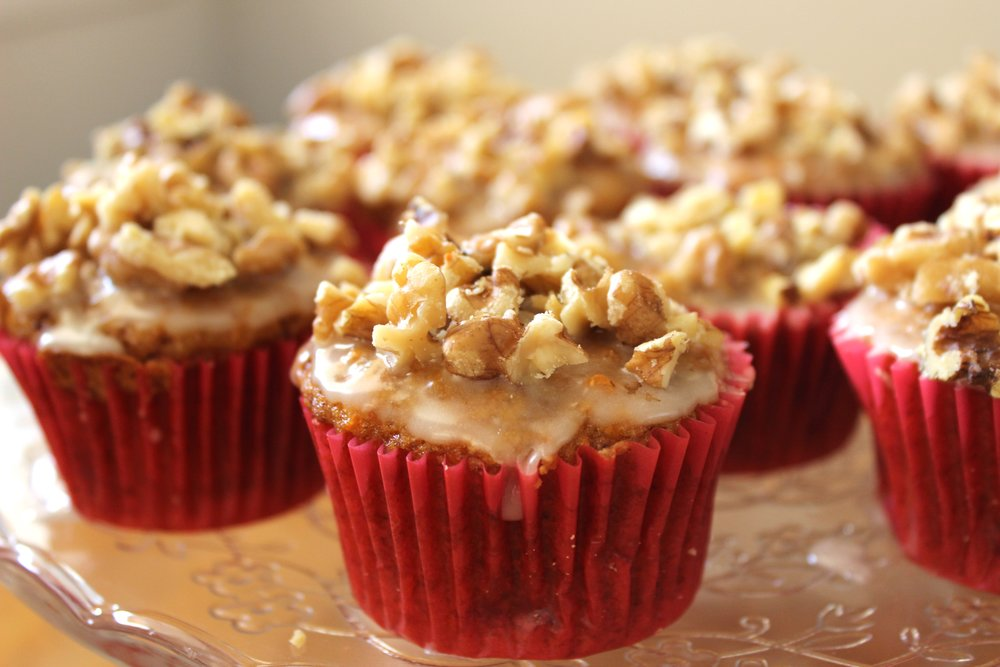 You Can Make The Very Simple Vanilla Glaze I Teach Below And Add Walnuts On Top