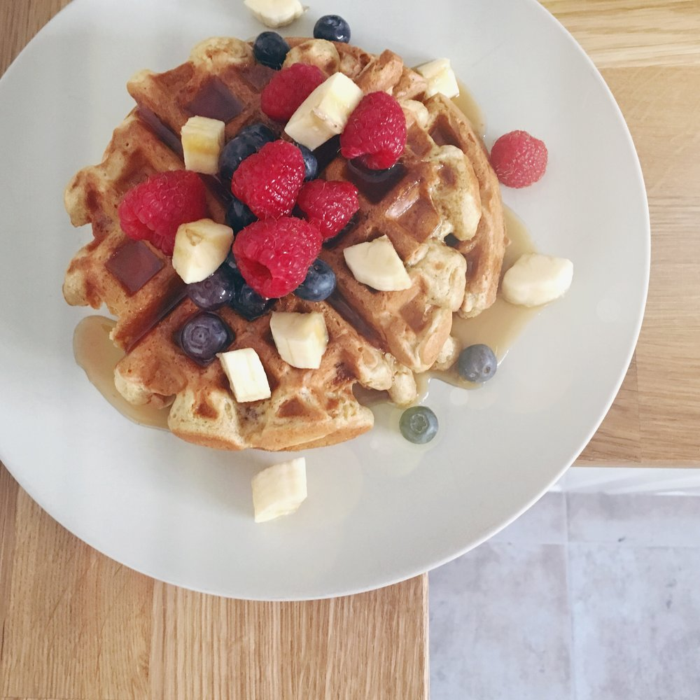 The Perfect Vegan Waffles ! Egg free waffles · Dairy free waffles