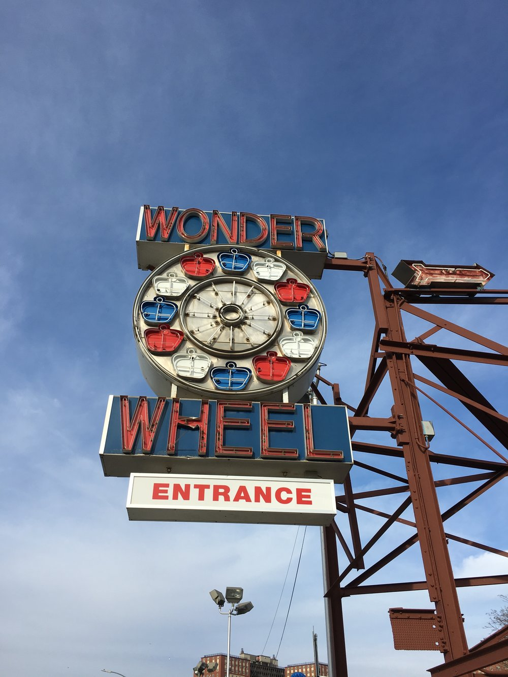 Wonder Wheel, Coney Island, NY, Jan 2017