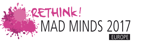 Rethink! Mad Minds Logo