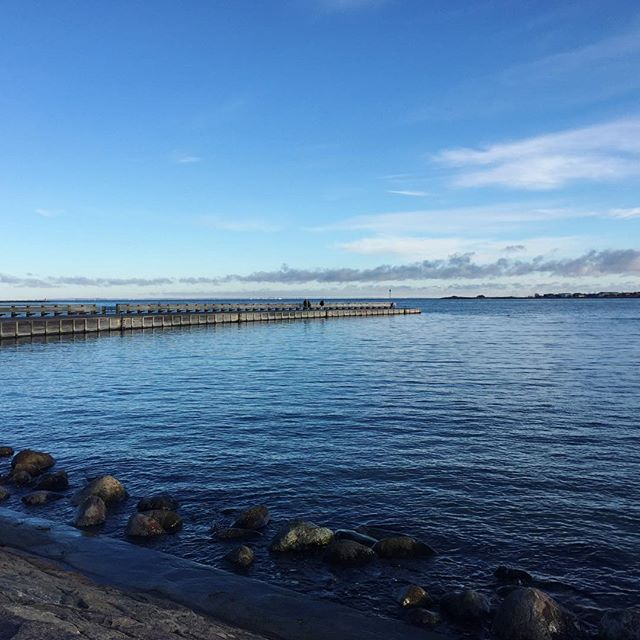 sunday #cph #sea #blue