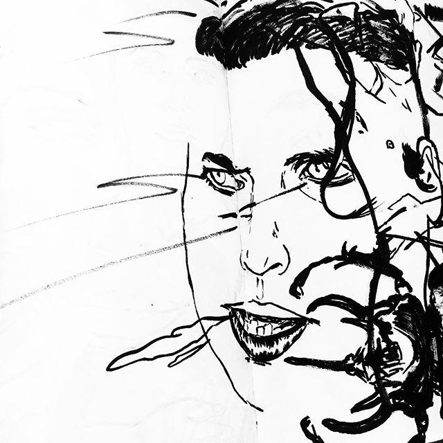 Brush👏🏼Pens👏🏼 . . . . #illustration #illustrators #illustratorsoninstagram #drawing #draw #sketch #sketchbook #brushpen #mujibrushpen #ink #brush