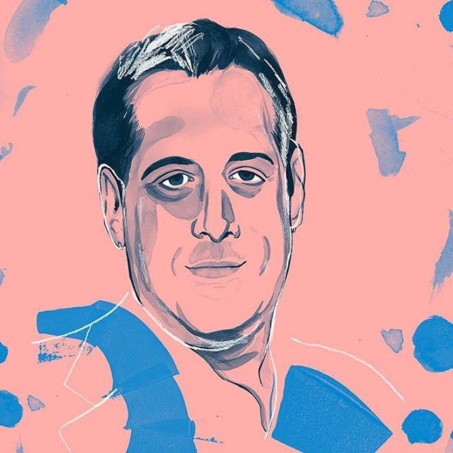 A quick one from a while ago - a portrait of Harvey Milk's nephew, Stuart Milk for @queerbible 🌈✨ . . Thanks as always to @jackguinness 💃 . . . . . #illustration #illustrator #illustratorsoninstagram #queer #lgbtqia #queer #queerbible #harveymilk #stuartmilk #ink #draw #drawing #portrait #portraiture #gayrights #civilrights