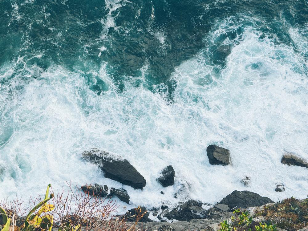 Cliffs near Corniglia