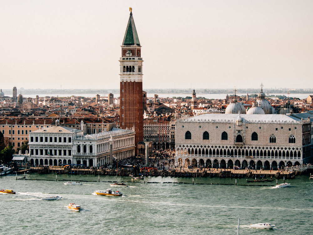 View of San Marco and Doge's Palace from San Giorgio