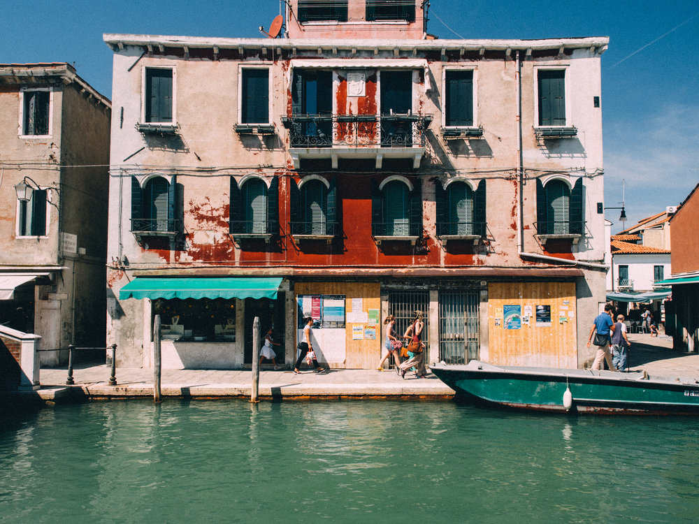A House on the Murano Islands