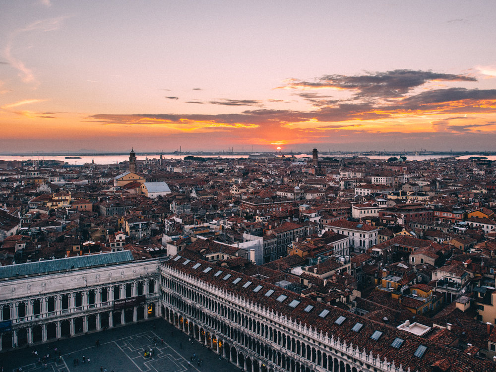 Sunset from San Marco Campanile