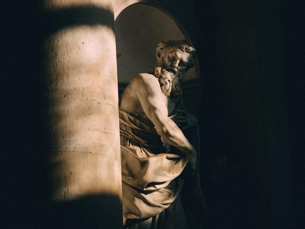Statue in San Giorgio