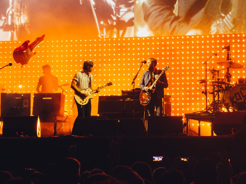Kings of Leon on stage