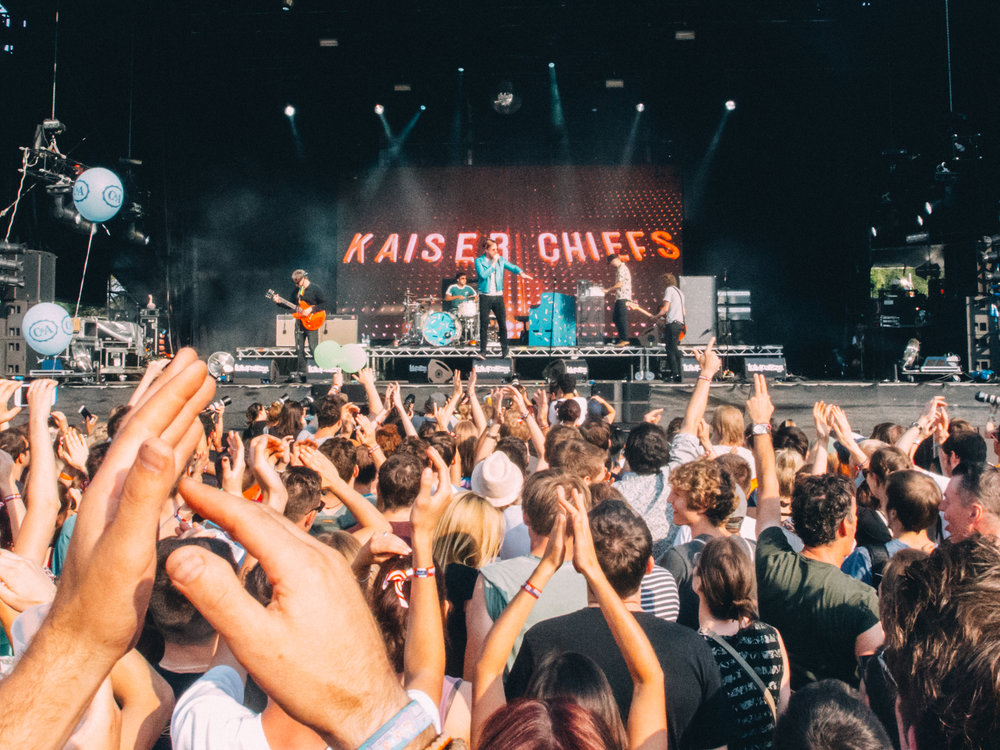 Kaiser Chiefs on the Alternative Stage