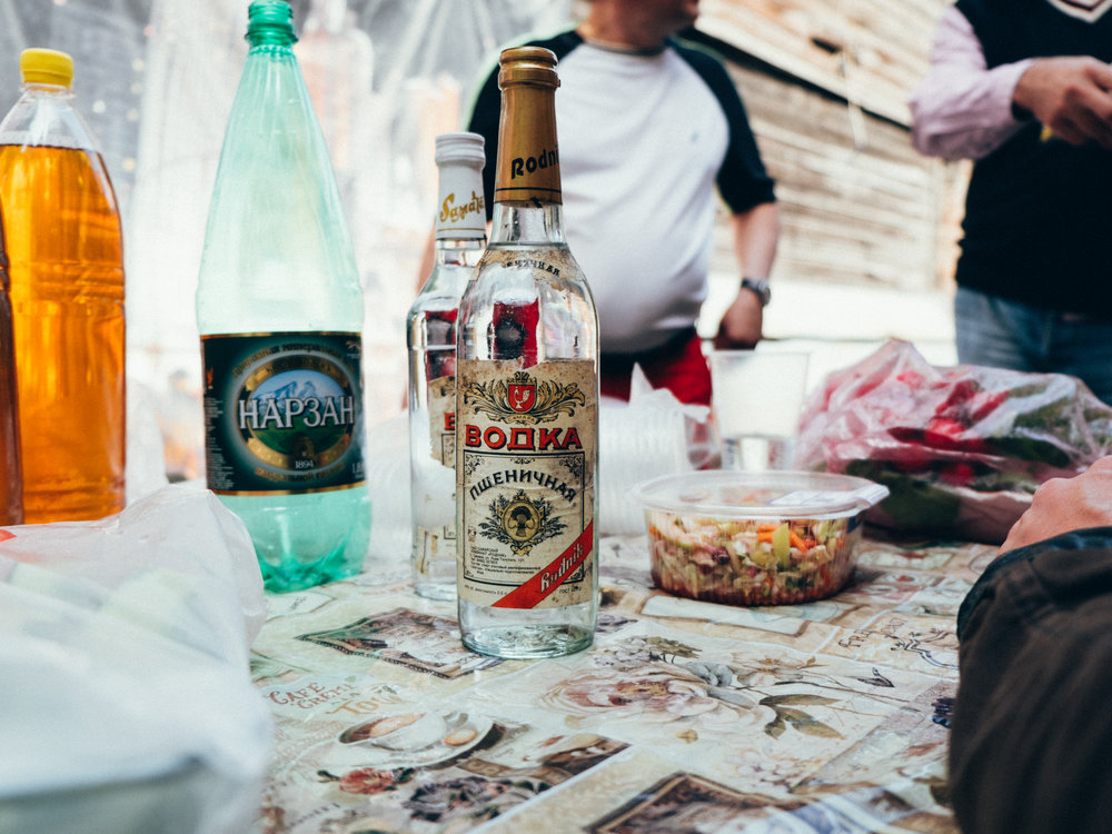 USSR vodka