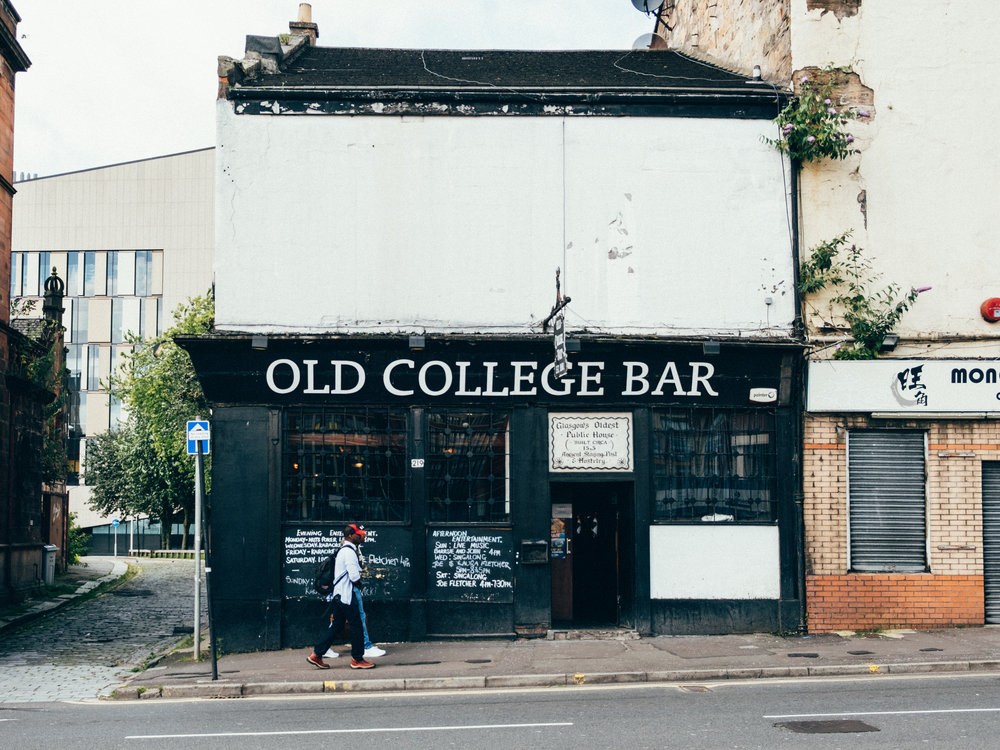 old-college-bar-glasgow