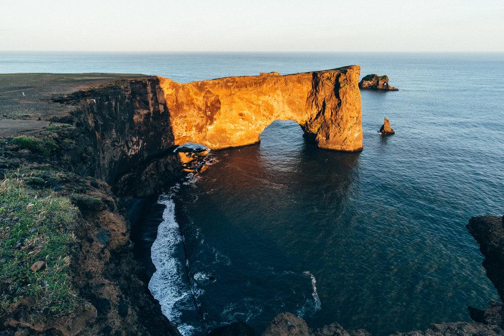 Dyrhólaey Arch