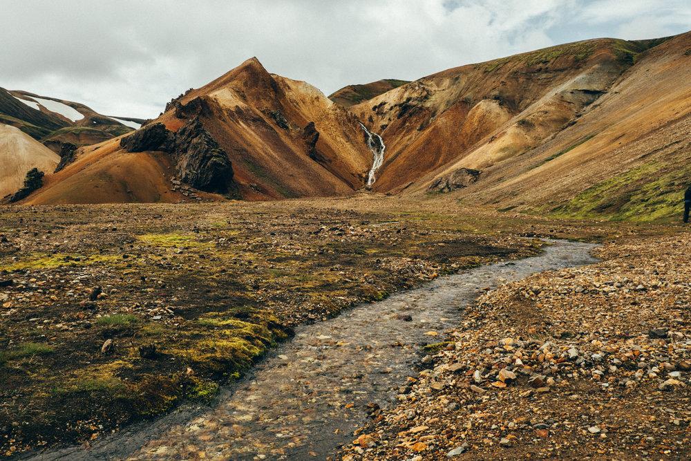 landmannalaugar-waterfall-iceland