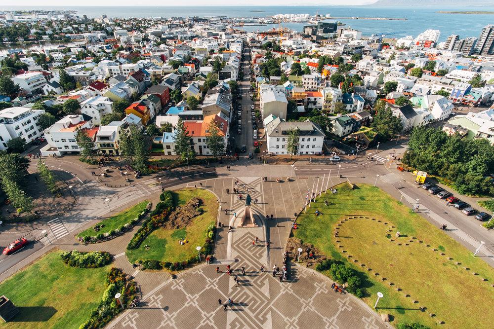 reykjavik-city-ocean-aerial-view