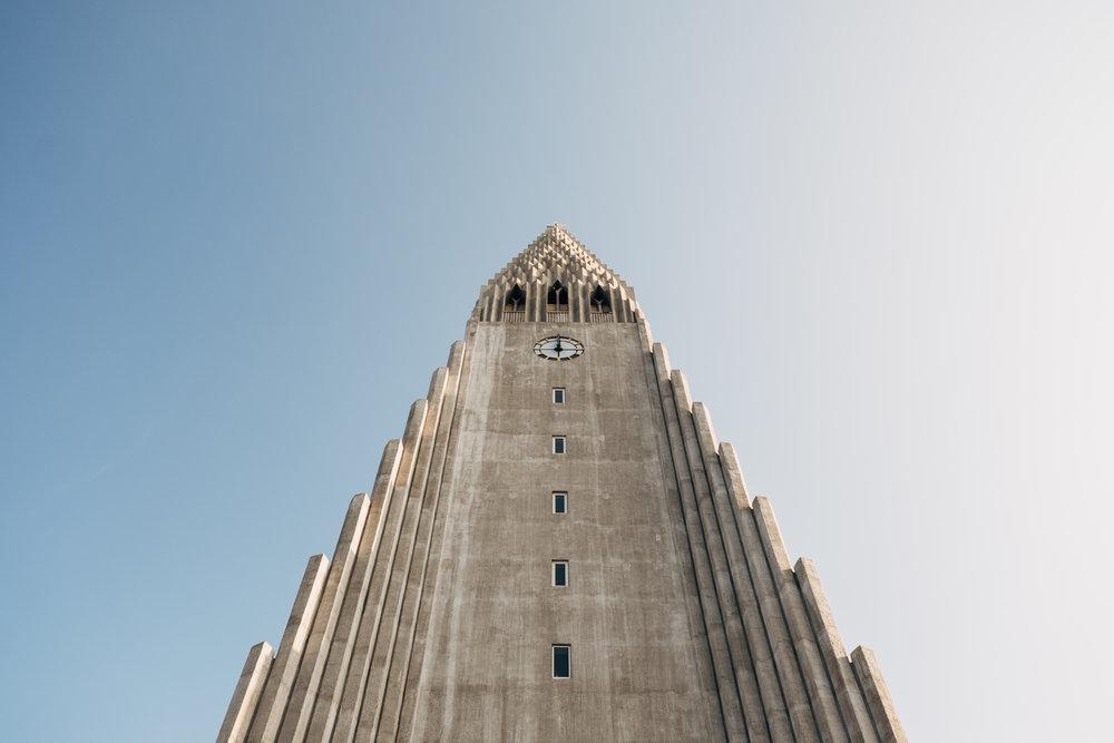 The Hallgrímskirkja