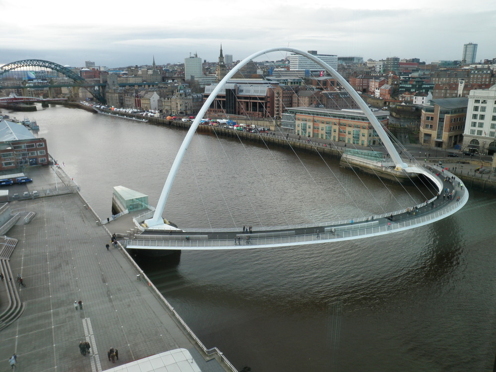 Newcastle Upon Tyne, Millennium Bridge