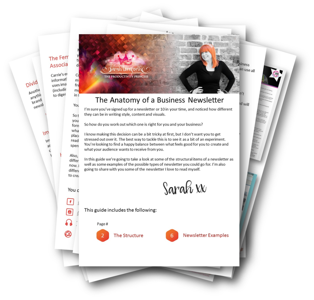 Your Newsletter Structure